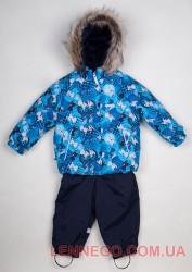 Теплый зимний комплект для мальчика Lenne Zoomy 18315/6630