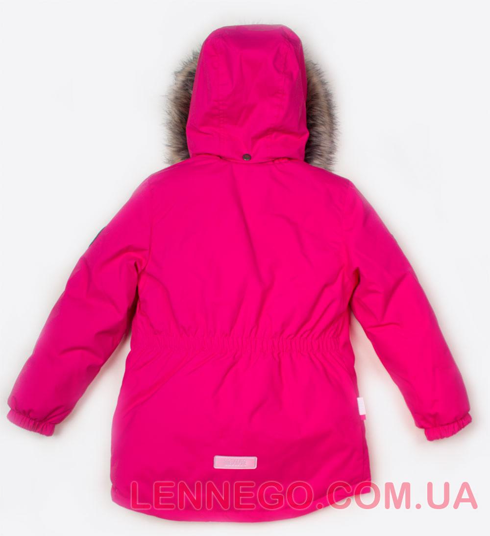 Lenne Marion удлиненная куртка парка для девочки ягодная