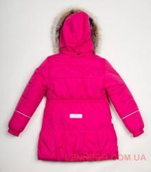 Lenne Miia пальто для девочки малиновое