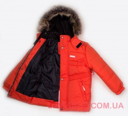 Lenne Milo куртка для мальчика оранжевая