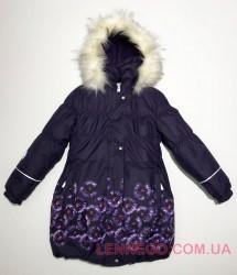 Lenne Estelle пальто для девочки баклажан