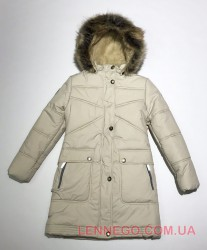 Lenne Isadora пальто для девочки бежевое