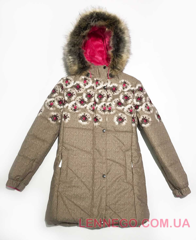 Lenne Keira пальто для девочки бежевое