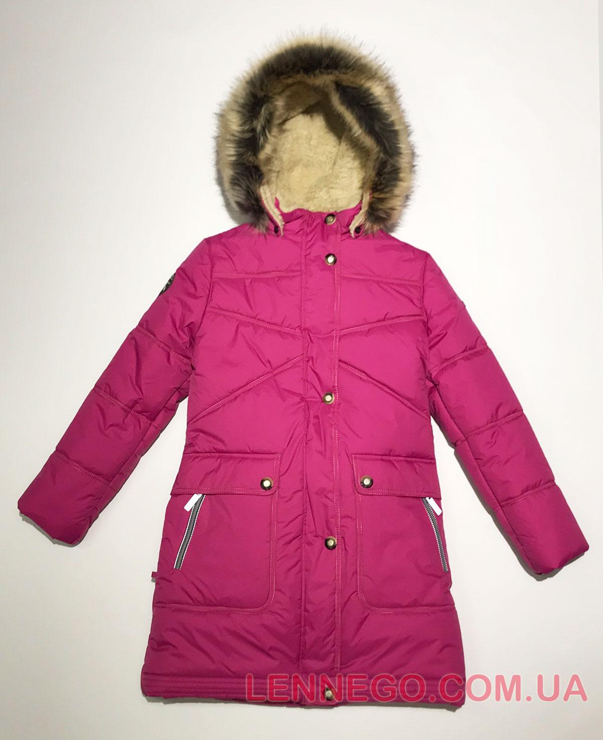 Lenne Isadora пальто для девочки фуксия