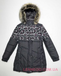 Lenne Keira пальто для девочки серое