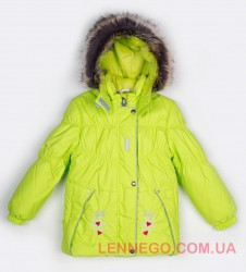 Lenne Ruta куртка для девочки салатовая