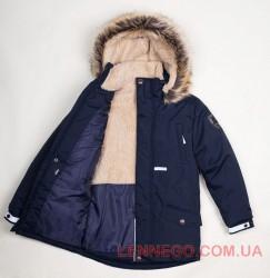 Lenne Ryan куртка парка для мальчика темно-синяя, подросток