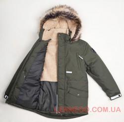 Lenne Ryan куртка парка для мальчика хаки, подросток