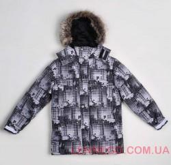 Lenne Sonny куртка для мальчика серая подросток