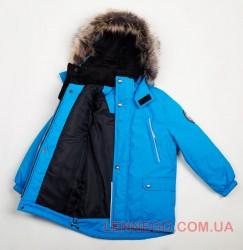 Lenne Storm удлиненная куртка парка для мальчика, голубая