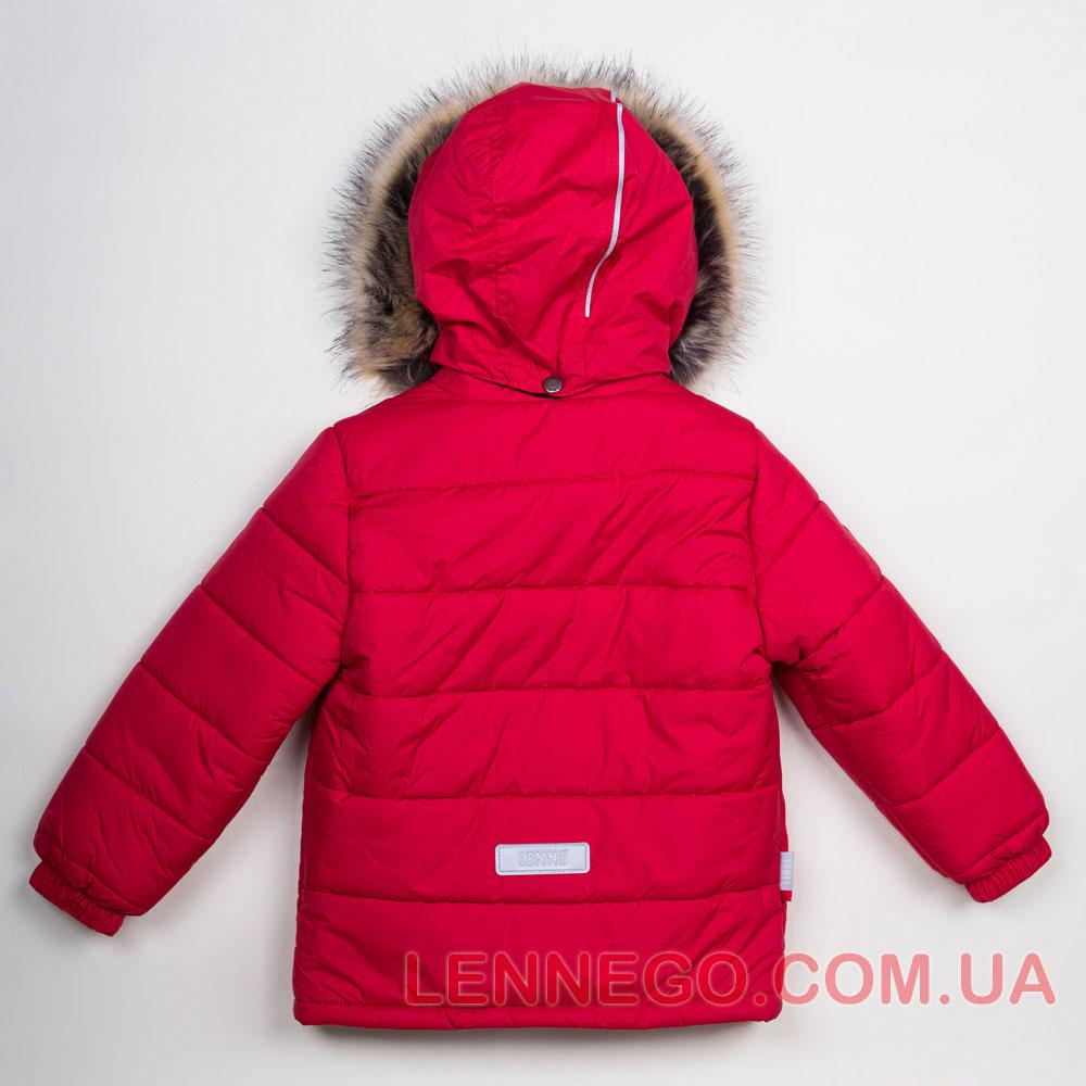 Lenne Timmy зимняя куртка для мальчика красная