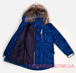 Lenne Wood куртка парка для мальчика синяя