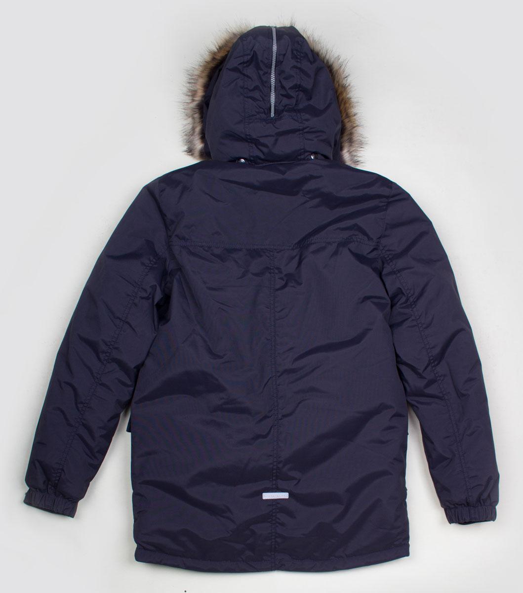 Lenne Woody куртка парка для мальчика темно-синий графит