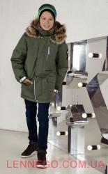 Lenne Woody куртка парка для мальчика хаки