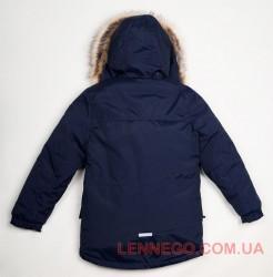 Lenne Woody куртка парка для мальчика темно-синяя